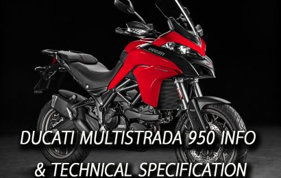 DUCATI MULTISTRADA 950 INFO & TECHNICAL SPECIFICATION