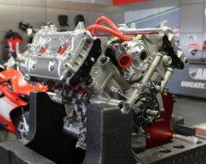 AMS Ducati Dallas's เผย เครื่องV4 เรียกน้ำย่อย Dovi's GP14.2 engine