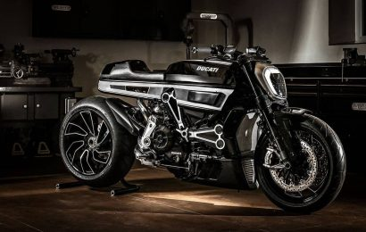 More cafe racer than cruiser : XDiavel