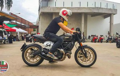 First Ride Review: Scrambler Cafe Racer the story from 1960s.