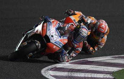 """Qatar MotoGP:การที่มาร์คโผล่มานั้น """"ไม่น่าเชื่อ"""" บทสัมภาษณ์แชมป์สนามแรก โดวิซิโอโซ่"""