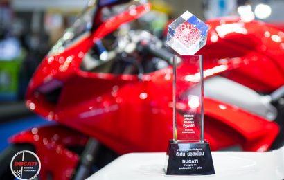 Ducati Panigale V4 คว้ารางวัล Big Best Bigbike of the Year 2017-2018 พร้อมจัดแคมเปญใหญ่ในงาน BIG Motor Sale 2018