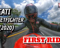 2020 Ducati Streetfighter V4S #First Ride Clip Review